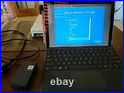 Microsoft Surface Pro 7 12.3 (128GB SSD, 8GB) type cover and pen bundle