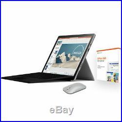 Microsoft Surface Pro 7 12.3 Intel Core i5 8GB RAM 128GB SSD Platinum Bundle