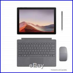Microsoft Surface Pro 7 12.3 Intel Core i5 8GB RAM 256GB SSD Matte Black 10th