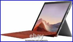 Microsoft Surface Pro 7 12.3 Touchscreen Intel Core i3-1005G1 4GB RAM 128GB SSD