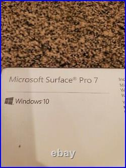 Microsoft Surface Pro 7 128GB, Wi-Fi, 12.3 keyboard included