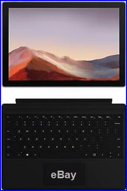 Microsoft Surface Pro 7 (Core i5, 8GB, 128GB) Bundle, Type Cover Keyboard, Pen
