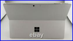 Microsoft Surface Pro 7 Intel Core i3 1005G1 4GB RAM 128GB SSD Silver Excellent