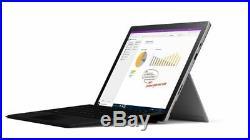 Microsoft Surface Pro 7 Intel i7 16GB 256GB SSD (Platinum+Blk Type cover) Bundle