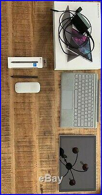 Microsoft Surface Pro Pro 6 128GB, Wi-Fi Silver With Extras