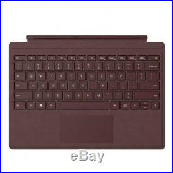 Microsoft Surface Pro Signature Type Cover Burgundy Crafted from the latest