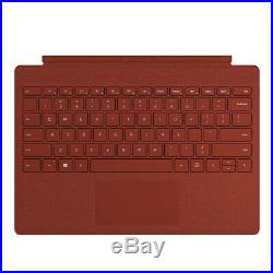 Microsoft Surface Pro Signature Type Cover Poppy Red Full keyboard experience