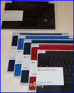 Microsoft Surface Pro Type Cover Keyboard for Pro 3, Pro 4 & 2017 Surface Pro
