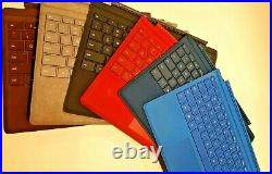 Microsoft Surface Pro Type Cover Keyboard for Surface Pro 7, 6, Pro 5, Pro 4, 3