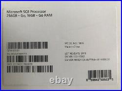 Microsoft Surface Pro X 13 Touch 4G LTE Tablet SQ1 16GB 256GB W10H QGM-00001