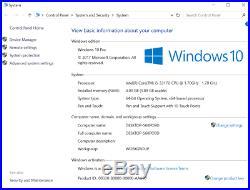 Microsoft Surface Pro i5 1.70GHz 4GB 128GB Win 10