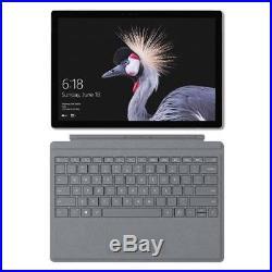 Microsoft Surface Pro i5 8GB 128GB Bundle + Signature type cover (platinum) 12