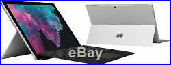Microsoft Surface Pro with Black Keyboard 12.3Touch Screen Intel Core