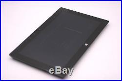 Microsoft Surface Windows 10 Pro 10.6'' Tablet 128GB 4GB 1.9GHz intel i5 Black