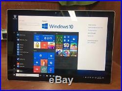 Microsoft Surface pro 4 Windows 10 Pro 128gb ssd 4gb ram 6300U 2.4ghz GREAT COND