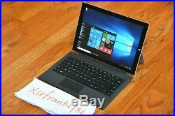 Microsoft surface pro 3rd Gen i7 4650U 8GB RAM 512GB SSD Backlit KB Bundle