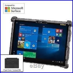 MobileDemand Microsoft Surface Pro 4 Premium Rugged Case BLACK Military Dro