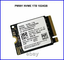 NEW SAMSUNG PM991 PCIe NVMe SSD 1TB 1024GB M. 2 2230 For Microsoft Surface Pro X