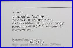 NEW SEALED Microsoft Surface Pro 4 Tablet 12.3 Core i5 8GB 256GB SSD 7AX-00001