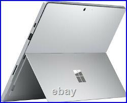 New Microsoft Surface Pro 7 10th Gen. I3 CPU 128GB SSD 4GB RAM Tablet Platinum