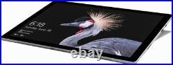 New Microsoft Surface Pro (Platinum, Core M, 4GB, 128GB) Bundle Black Type Cover