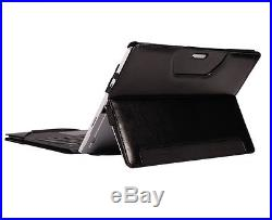 PU Leather Protective Keyboard Case/Cover For 12.3 Microsoft Surface Pro 4 UK