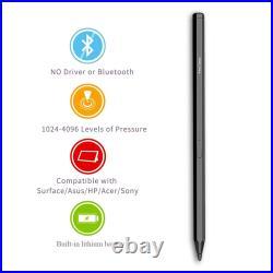 Stylus Pen for Microsoft Surface Pro 6,5,4,3, Go, Book, Laptop Rechargeable Pen