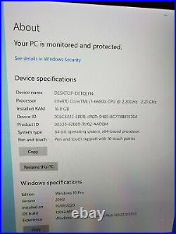 Surface Pro 4 i7 6th Gen, 16Gb Kb+Pen+ Mouse+512Gb (256Gb SSD+256Gb SD)